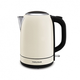 Morphy Richards Equip Stainless Steel Ivory Cream Jug Kettle