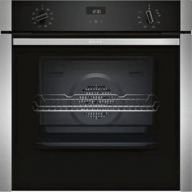 Neff B3ACE4HN0B SLIDE&HIDE® Built In Electric Single Oven - Stainless Steel - A Rated