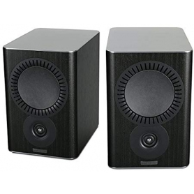 Mission QX-2 BLACK WOOD Book Shelf Speakers Pair